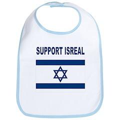 Support Isreal Bib