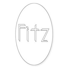 Fitz Oval Decal
