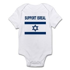 Peace for Isreal Infant Bodysuit