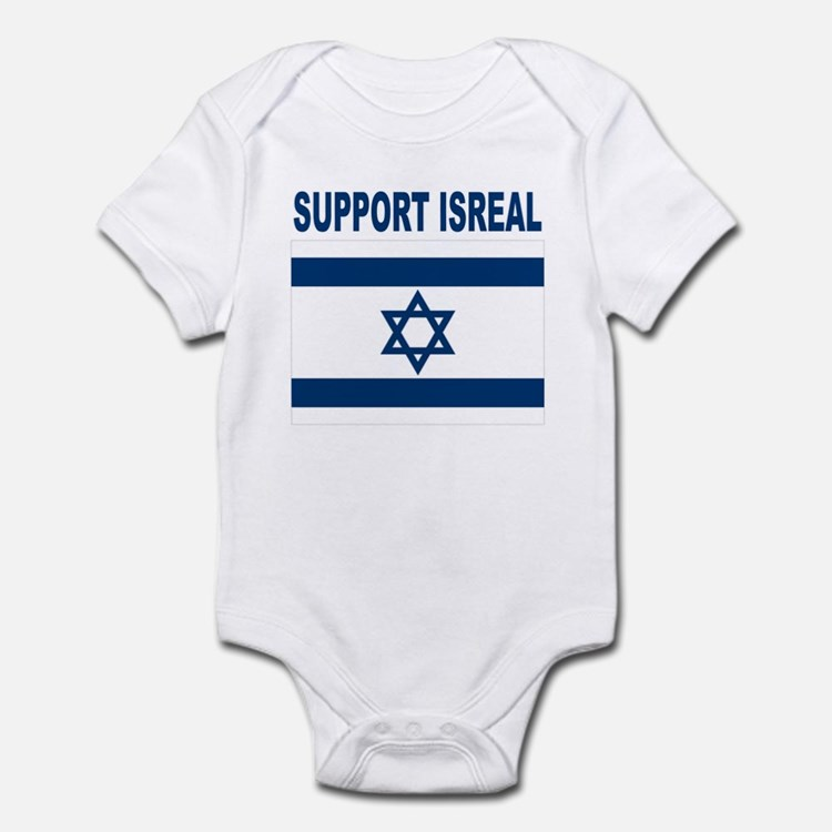 Peace for Isreal Infant Bodysuit