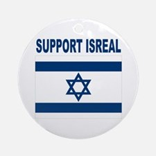 Peace for Isreal Ornament (Round)