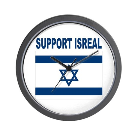 Peace for Isreal Wall Clock