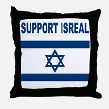 Peace for Isreal Throw Pillow