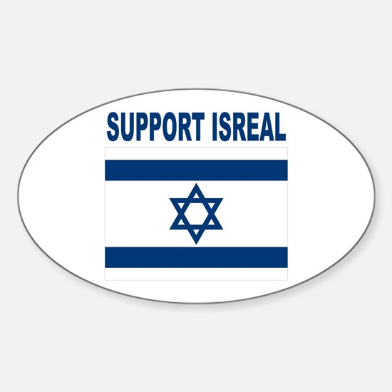 Peace for Isreal Sticker (Oval)