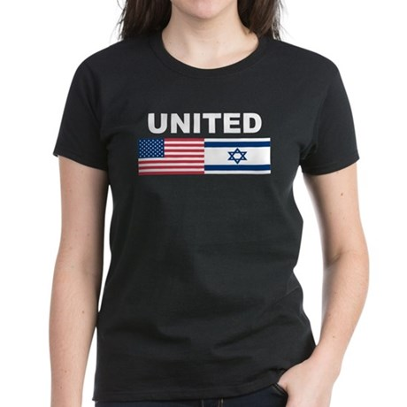 Support Isreal Women's Dark T-Shirt