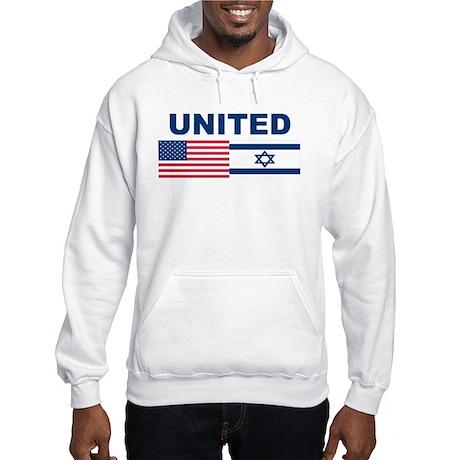 Support Isreal Hooded Sweatshirt