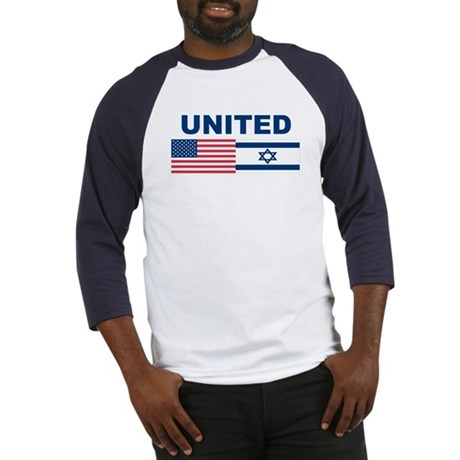 Support Isreal Baseball Jersey