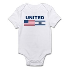 Support Isreal Infant Bodysuit