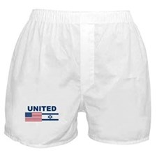 Support Isreal Boxer Shorts