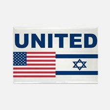 Support Isreal Rectangle Magnet (10 pack)