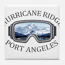 Hurricane Ridge Ski and Snowboard Are Tile Coaster