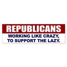 Republican Bumper Bumper Bumper Sticker