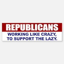 Republican Bumper Bumper Bumper Sticker