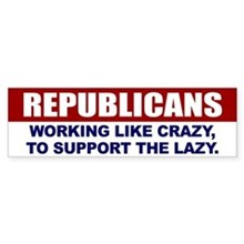 Republicans Bumper Sticker