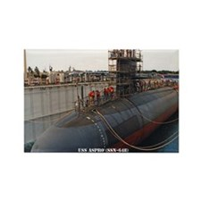 USS ASPRO Rectangle Magnet