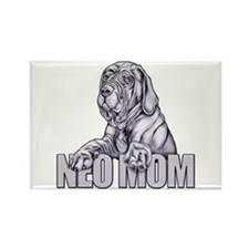 Neo Mom Blue UC Rectangle Magnet