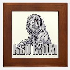 Neo Mom Blue UC Framed Tile
