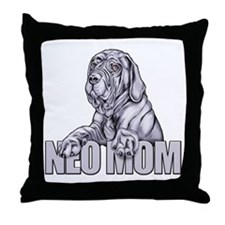 Neo Mom Blue UC Throw Pillow