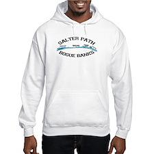 Salter Path NC - Map Design Hoodie