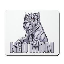 Neo Mom Blue Mousepad