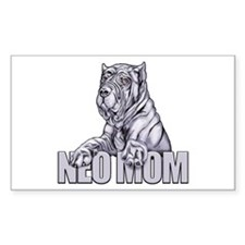Neo Mom Blue Decal