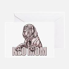 Neo Mom Black UC Greeting Card