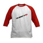 ...Is Red Kids Baseball Jersey