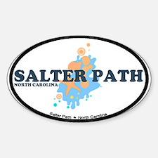 Salter Path NC - Seashells Design Decal