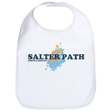 Salter Path NC - Seashells Design Bib