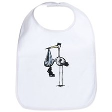 Hockey Stork Bib