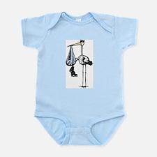 Hockey Stork Infant Creeper