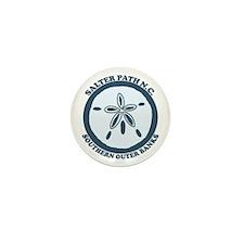 Salter Path NC - Sand Dollar Design Mini Button