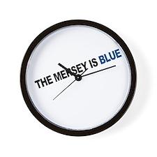 ...Is Blue Wall Clock