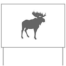 Moose Yard Sign