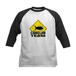 Kids Baseball Jersey - Front and back logo