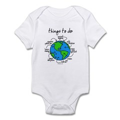 Things To Do Globe Gear Infant Creeper
