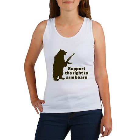 Arm Bears Women's Tank Top