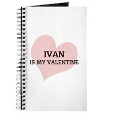Ivan Is My Valentine Journal
