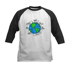 To Do Globe Gear Kids Baseball Jersey