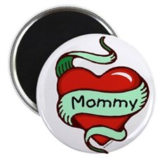 Mommy in Heart Magnet