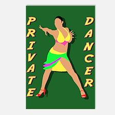 Dancing Postcards (Package of 8)