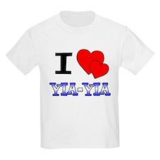 I Love Yia-Yia T-Shirt