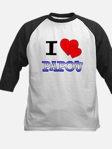 I Love Papou Tee