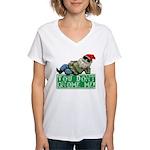 You Don't Gnome Me! Women's V-Neck T-Shirt