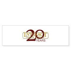 20th Anniversary Bumper Sticker