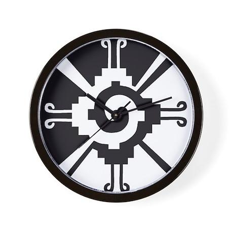 Mayan Unity Symbol Wall Clock by gurugoods