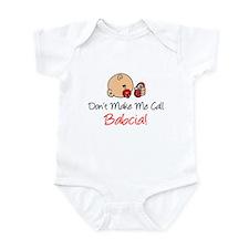 Don't Make Me Call Babcia Infant Bodysuit