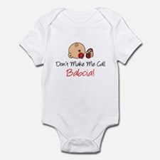 Don't Make Me Call Babcia Infant Bodysuit