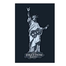 Statue of Rockerty Postcards (Package of 8)