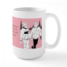 Effortless Friendship Large Mug